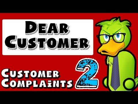 Dear Customer - Stupid Customer Complaints 2