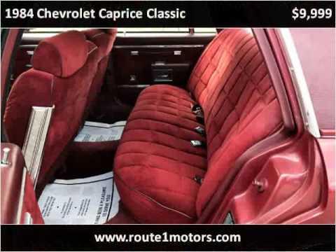 1984 Chevrolet Caprice Classic Used Cars Laurel MD