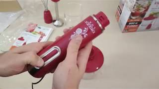 Обзор DELTA Блендер LUX DL 7044 B DL красный