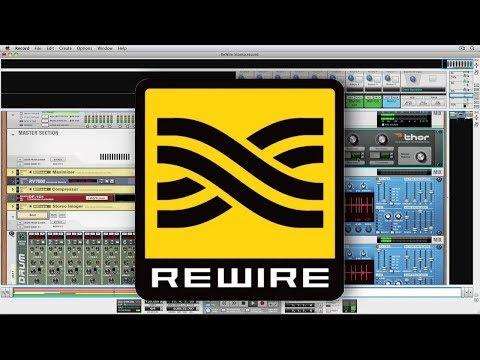 Rewire Propellerheads Reason 9.5 into Logic Pro X Record Multiple MIDI