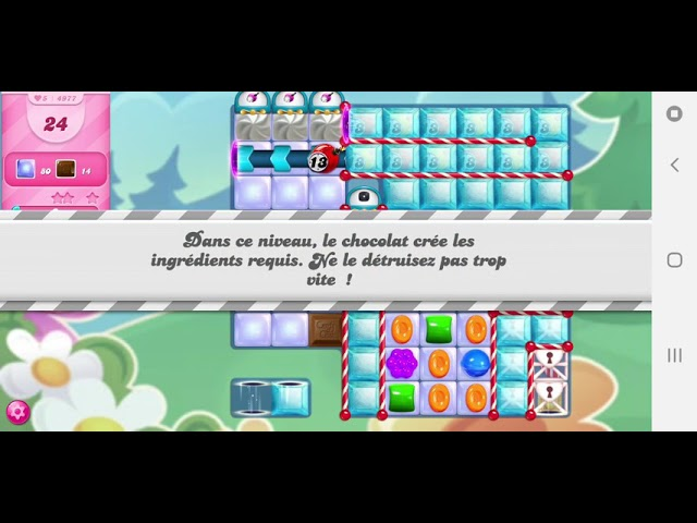Candy Crush Saga niveau 4977