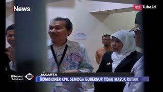 Khofifah Kunjungi KPK, Saut Situmorong Berharap Gubernur Tak Masuk Rutan - iNews Malam 20/02