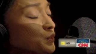 Zhou Xun On CNN's Chat Show, Talk Asia (part 2)