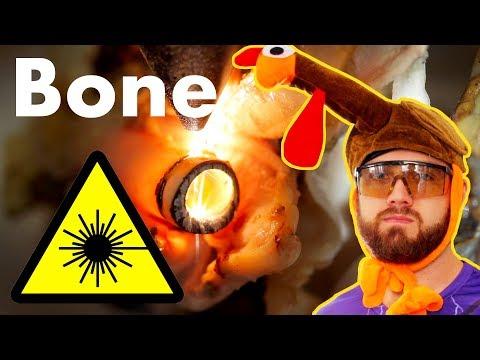 Can a Laser Cut Turkey Bones?