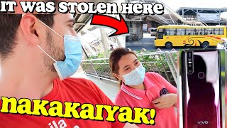 "PHONE Got STOLEN in a Bus ""HEARTFELT Message"" to the SNATCHER   😢🇵🇭 (Surprising Her with iPHONE)"