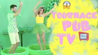 ON TOURNE UNE PUB TV POUR FANTA ! C'EST LA FOLIE !!