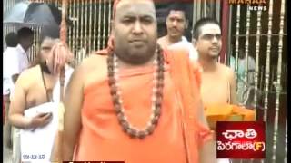 Paramahamsa Parivrajaka Acharya Sri Sri Jayendra Saraswathi Visits Tirumala - Mahaa News