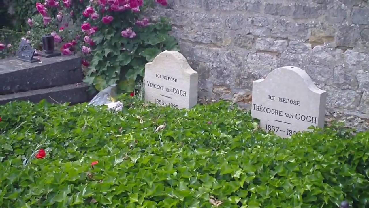 Auvers-Sur-Oise : la tombe de Vincent et