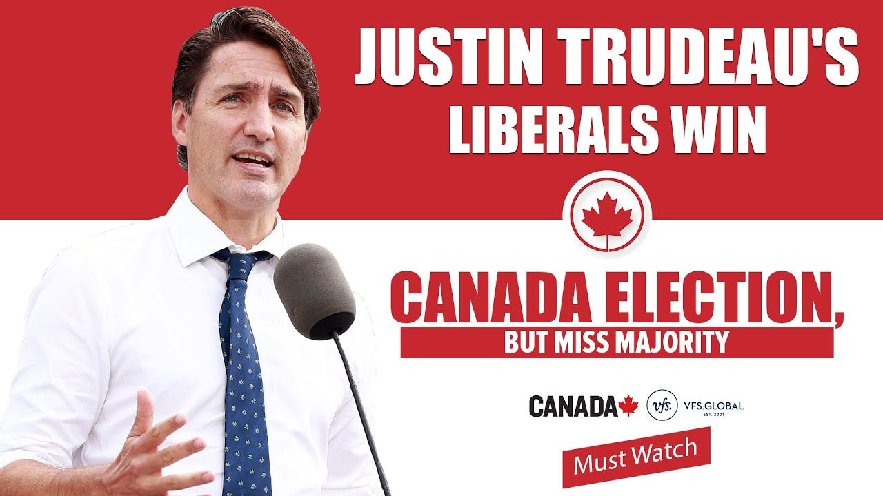Trudeau's Liberals Win Canada Election, But Missed The Majority In ...