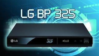 lG 3D Blu-ray Disc DVD PLAYER BP325 Unboxing