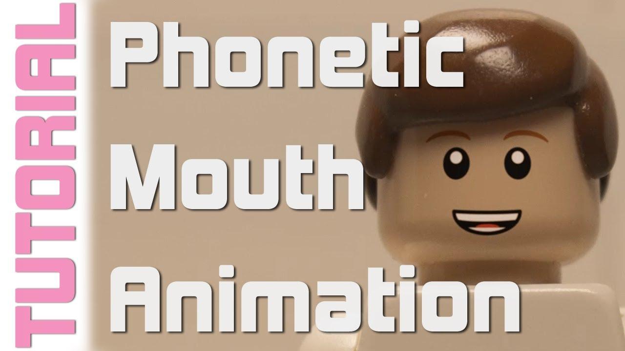 Lego Phonetic Mouth Animation Tutorial Youtube