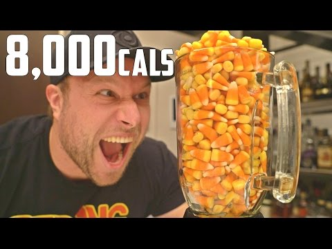 1,000 CANDY CORN HALLOWEEN CHALLENGE GONE WRONG! (8,000 CALORIES)