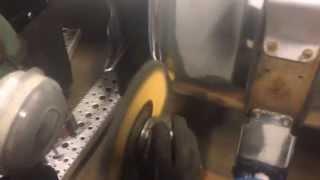 Fastest way to polishing aluminum fuel tank