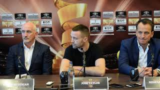 JOSH TAYLOR v RYAN MARTIN *FULL & UNCUT* WORLD BOXING SUPER SERIES PRESS CONFERENCE / IN GLASGOW