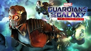 TANGLED UP IN BLUE!! (Guardians of the Galaxy: The Telltale Series - Episode 1)