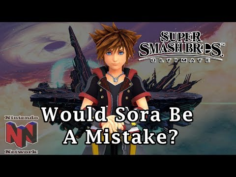 How Sora's Inclusion in Super Smash Bros Ultimate Could Be a Mistake thumbnail