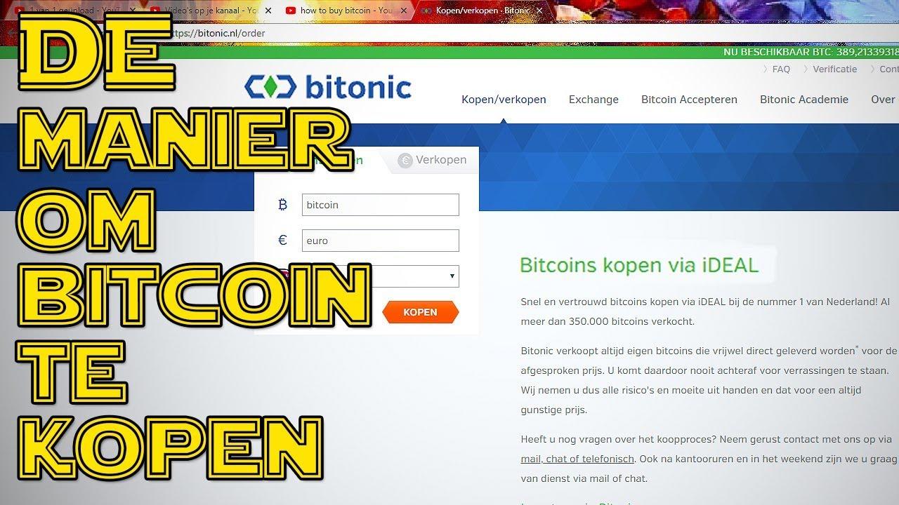 Hoe koop ik bitcoins?