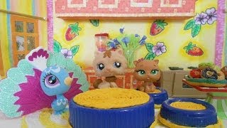 Lps Cooking Funny Story : Charlie's Peanut Butter Chocolate Balls