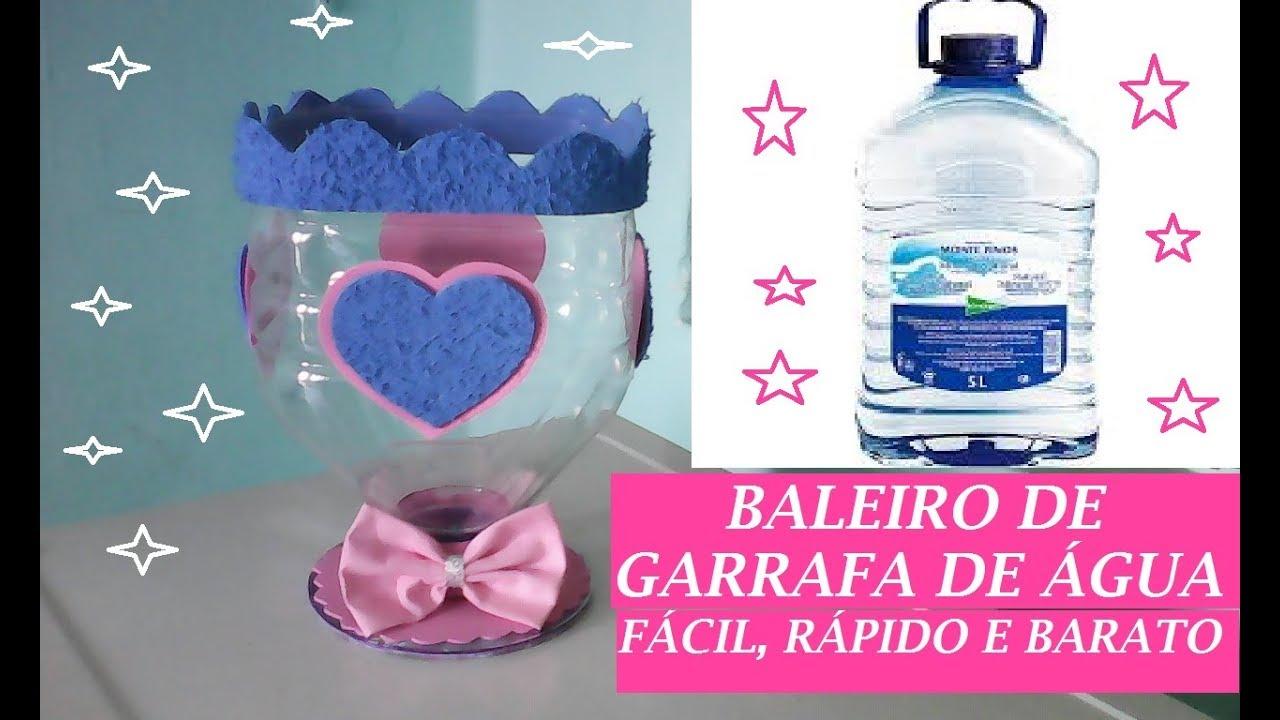 100 Artesanato Com Garrafa Pet De Agua Mineral