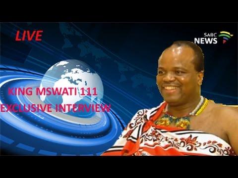 King Mswati 111 Exclusive Interview: 02 October 2016