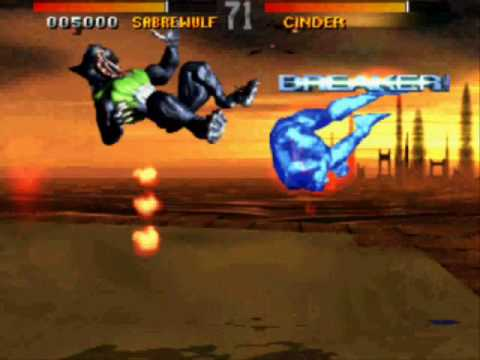 Cinder's double combo-breaker