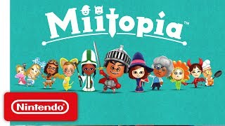 Nintendo 3DS  - Miitopia Launch Trailer