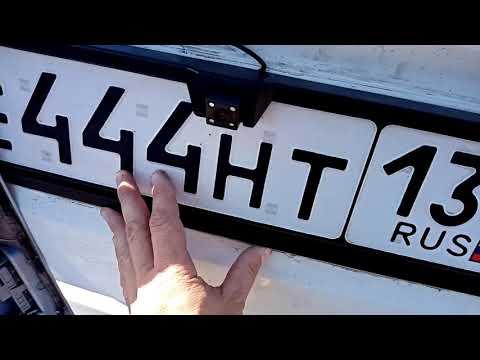 Lada granta fl камера заднего вида  и авто телевизору