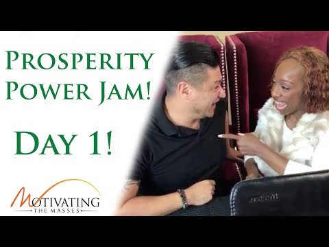 [ Day #1] Power Jam With Lisa Nichols & Matt Gil!