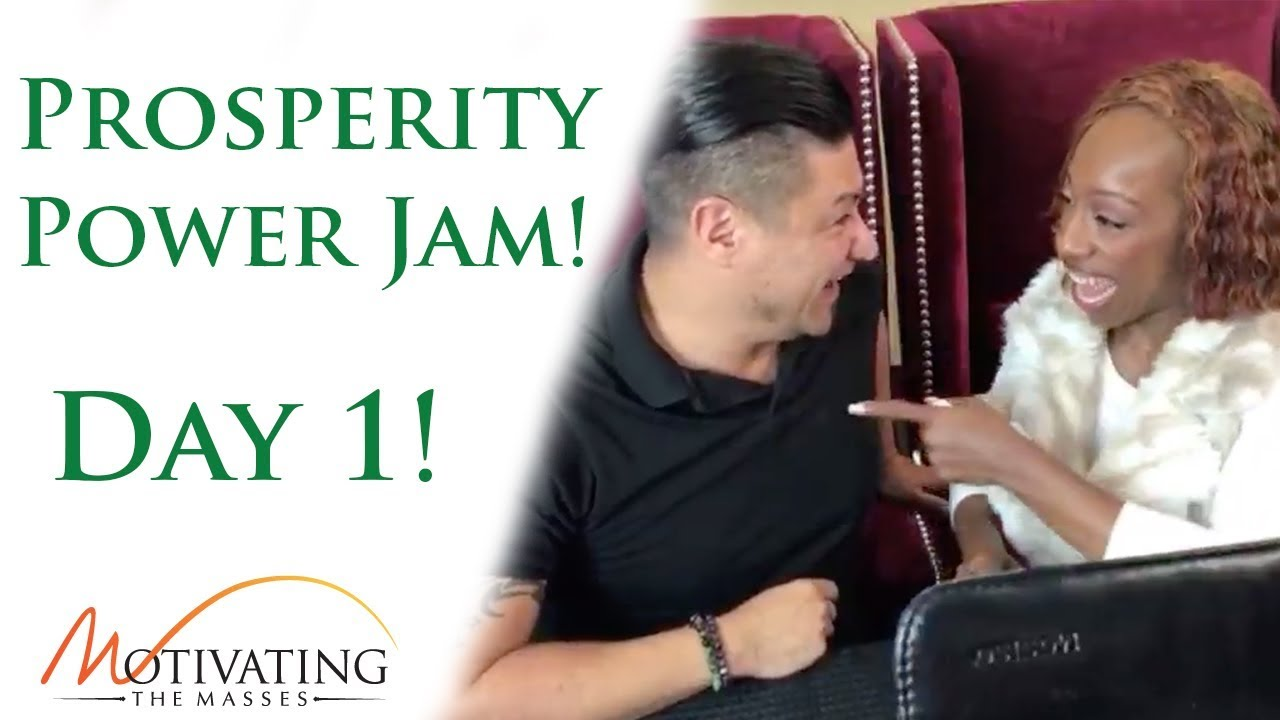 [Day #1] Power Jam With Lisa Nichols & Matt Gil!