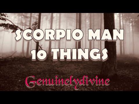 SCORPIO Man| 10 Things To Know!!