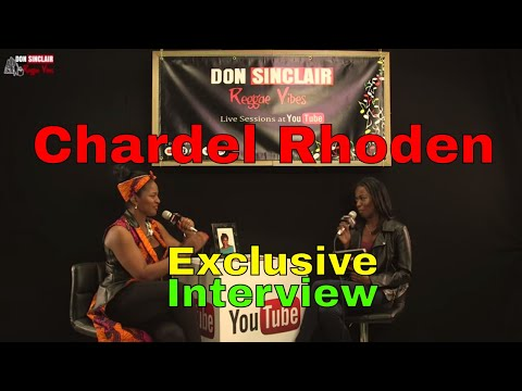 Chardel Rhoden - Exclusive Interview Live & Direct at YouTube