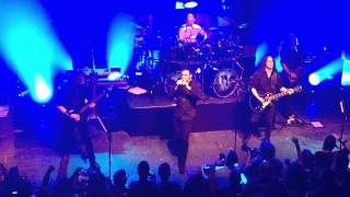Blind Guardian: Intro/The Ninth Wave, live in Athens {HD, 60 fps}, @Gagarin 205, 10th of May 2015