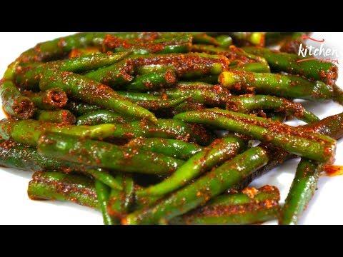 Green Chilli Pickle - Instant Green Chilli Pickle - Instant Mirchi Achar Recipe