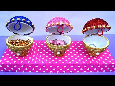 Easy Best Out of Waste Jewellery Organiser | Plastic Ball Craft Ideas | Life Hacks