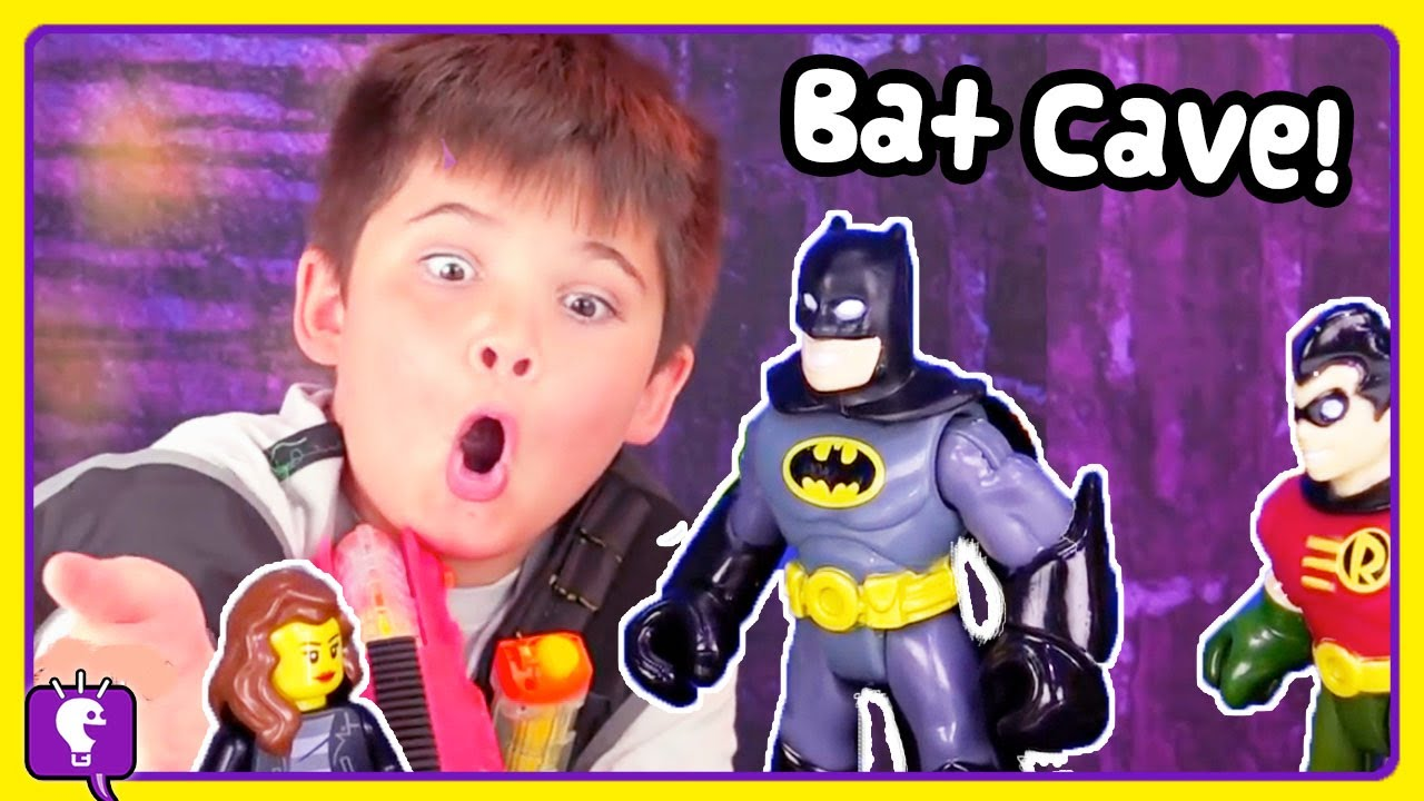 BATMAN + TRIXIE ADVENTURES! Compilation and Toy Play with HobbyKidsTV