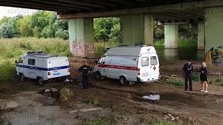 В Туле с моста через Упу упала женщина