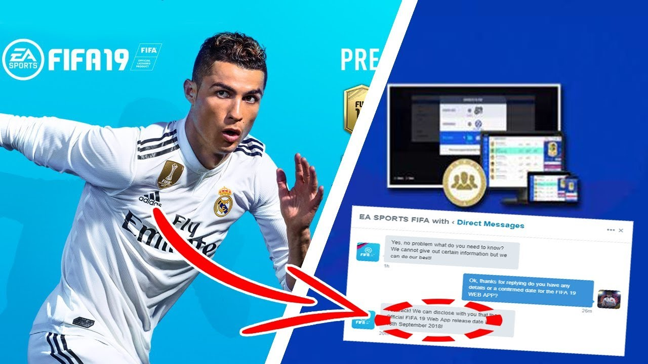*OMG* FIFA 19 WEB APP RELEASE DATE!! (SOONER THAN YOU THINK) | FIFA 19 NEW WEB APP DETAILS ...