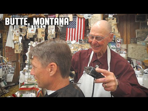 💈 Classic Old School Barber Shop Haircut & Banter In Butte Montana | Amherst Barber Shop
