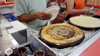 King of the crepes,CRAZY PANCAKE MAN Alcudia -Mallorca