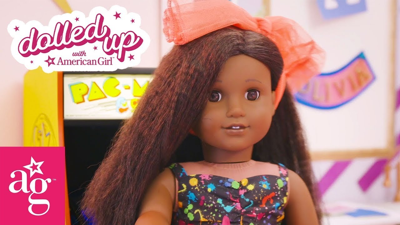 Best of Harper the Colorful Nail Art Queen | Dolled Up With American Girl | @American Girl
