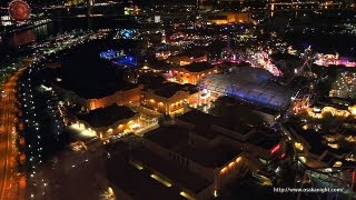 USJ ハリウッド・ドリーム・ザ・ライド 夜景 Hollywood Dream The Ride Night Japan