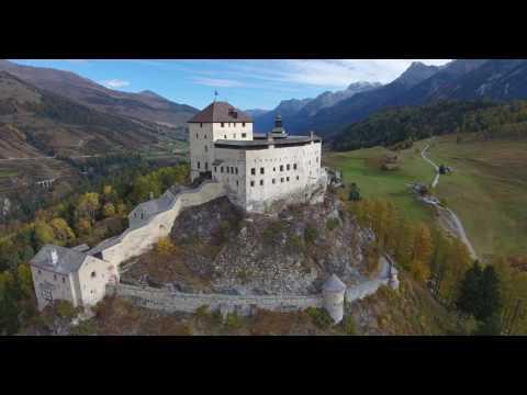 Swiss Castle Schloss Tarasp 4k