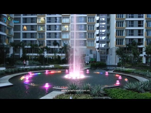 Sai Gon Airport Plaza Fountain - Nhạc nước nghệ thuật - Sài Gòn