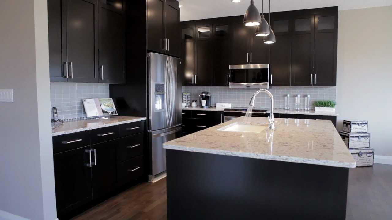 bridgeland show home new homes from edmonton alquinn homes