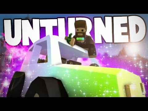Unturned Funny Moments: Rainbow Cars, Hallucinogenic Berries and Environmentalism