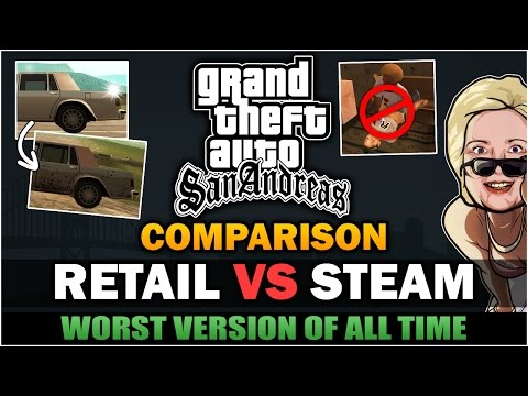 GTA SA - Why Steam is the worst version? [Comparison]  - Feat SpooferJahk