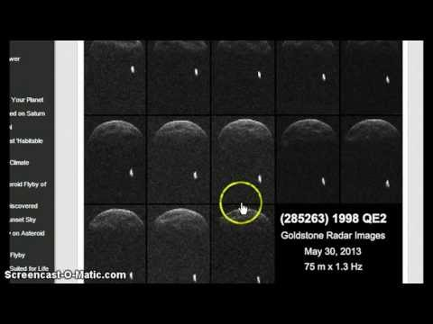 Nasa Images Reveal Approaching Asteroid 1998 QE2 Has a Moon!
