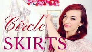 5 Ways to Wear Circle Skirts