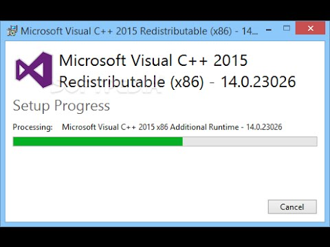 microsoft visual c++ 2005 sp1 redistributable package (x86)