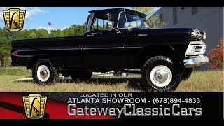 1961 Chevrolet Apache 20 - Gateway Classic Cars of Atlanta #59